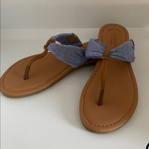 Sperry Top-Sider denim sandals